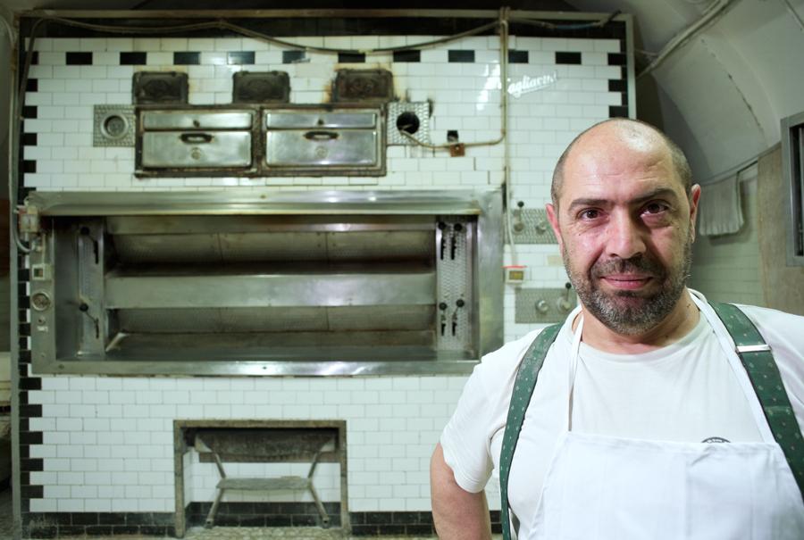 Antonio Forhieri. Award Winning Baker. Monterosi, Italy 2014. 900
