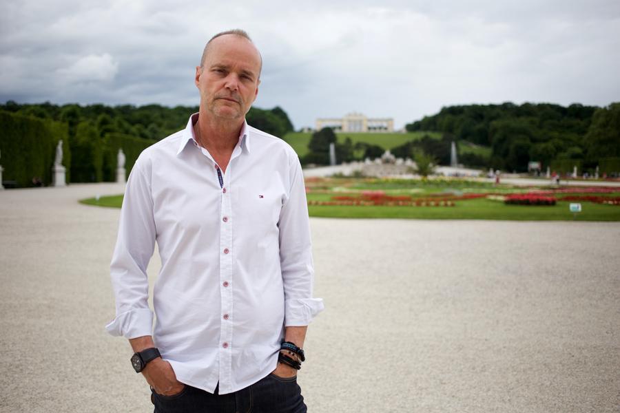 David Pickworth. Investment Banker. Vienna 2016